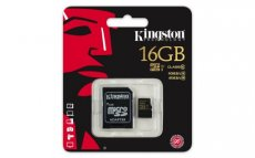 Kingston Micro SDHC 16GB Cl10 UHS-I 90R/45W